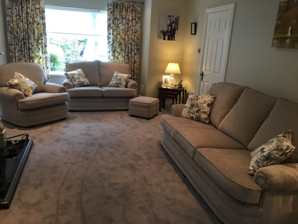 Reupholstered Suite