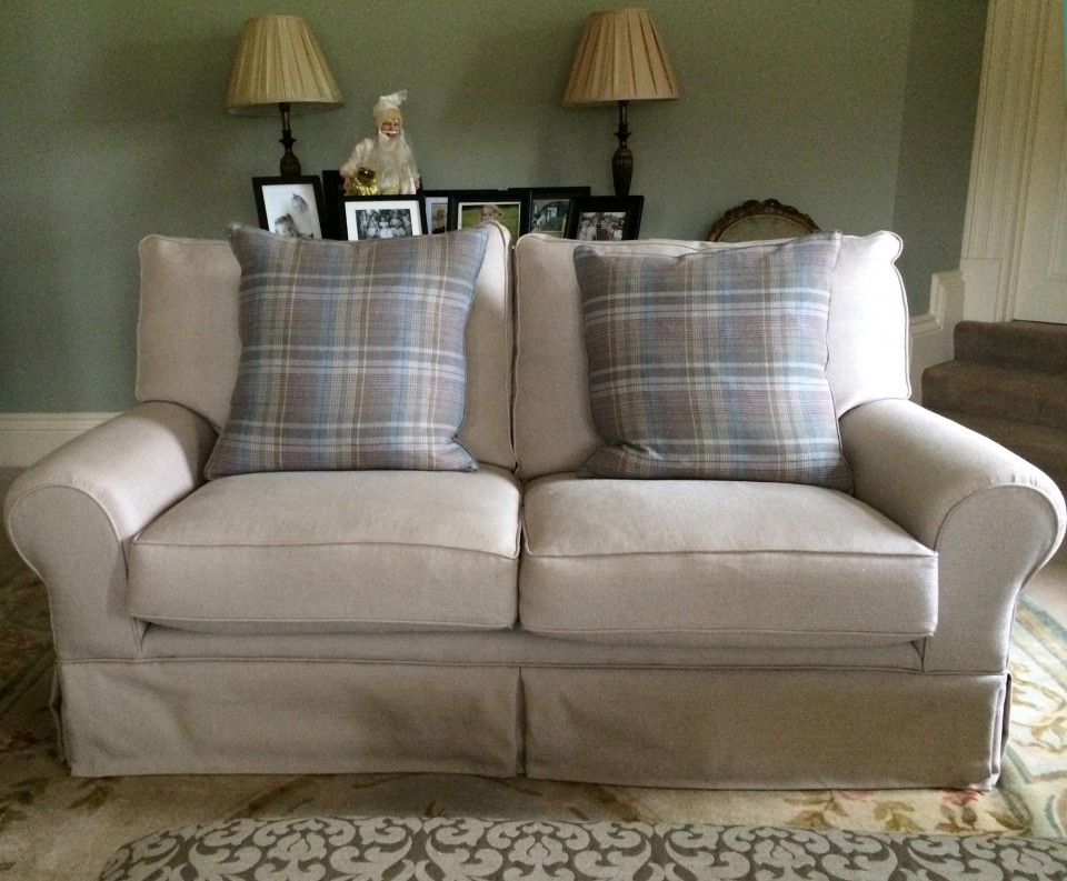 Reupholstered Laura Ashley Sofa Sofa So Good